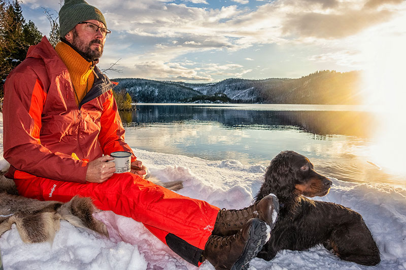 Svein Inge og hunden